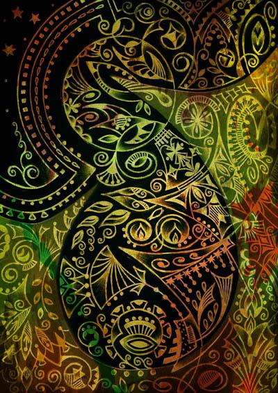Метафорические карты, мистические рисунки, Только ты