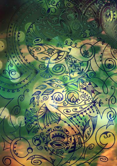 Метафорические карты, эзотерические рисунки Ангел-хранитель