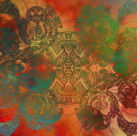 Метафорические карты, абстрактные рисунки Сотрясение