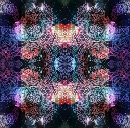 Абстрактные рисунки, метафорические карты На расстоянии