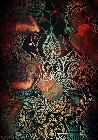 Мистические рисунки, интуитивные и метафорические карты Необъяснимое