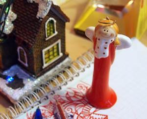 Домик в снегу, рождественский ангел Как настроиться на лучшее