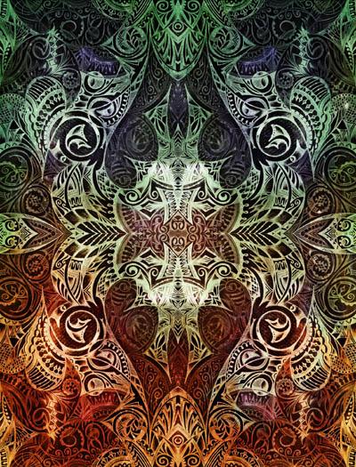 Мистические рисунки, графика Возможность видеть больше