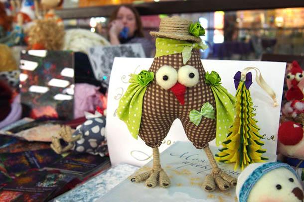 Куклы ручной работы Зеленый петух
