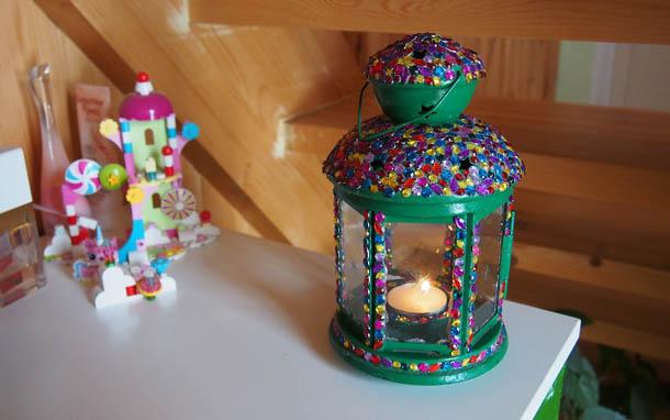 Декор лампы