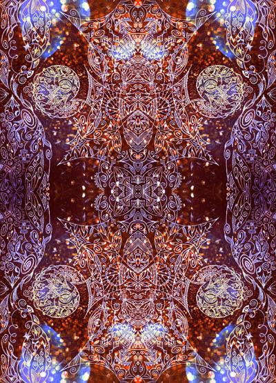 Эзотерические рисунки, метафорические карты Блеск в твоих глазах