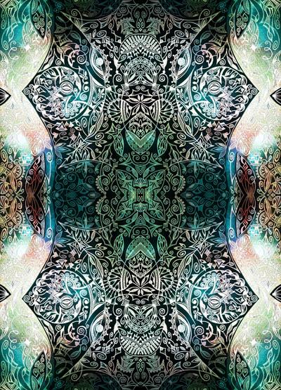 Эзотерические рисунки, метафорические карты Серенада