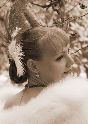 Быть женщиной Хуторная Елена Свадьба винтажное фото