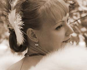 Быть женщиной Свадьба винтажная Миниатюра