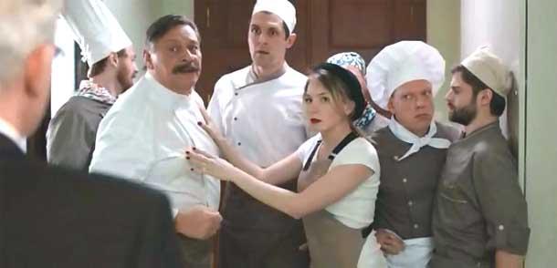 Хорошие русские фильмы Кухня фильм сериал