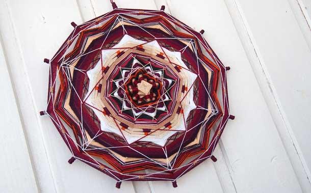 Волшебные мандалы Алиши Мандала из ниток