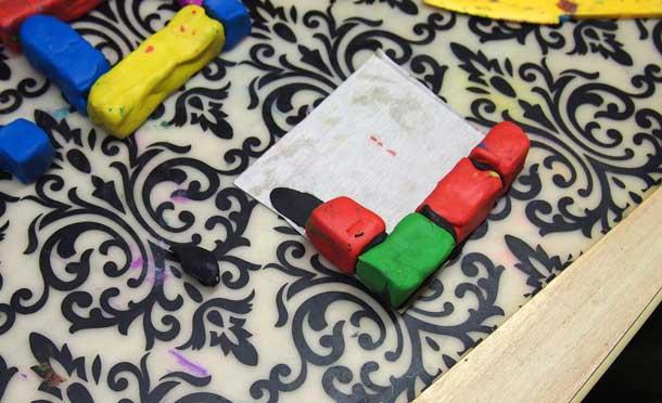 Как построить дом из пластилина Складываем дом
