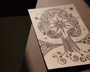 Рисунки шариковыми ручками Миниатюра