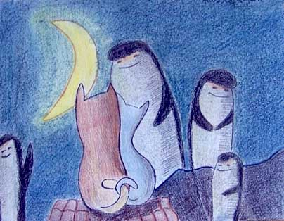 Как начать заниматься творчеством Коты пингвины