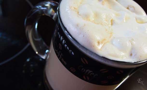 Моя любимая кружка Прозрачная кружка с широким донышком кофе с мороженым