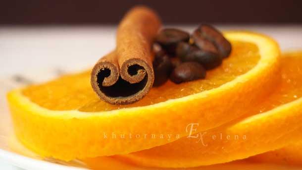 Моя любимая кружка Апельсины с корицей