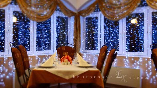 Как создать новогоднее настроение Праздничный зал