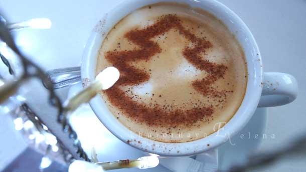 Как создать новогоднее настроение Кофе с елкой