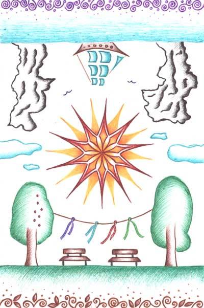 Фантазийные рисунки, метафорические карты Ясномыслие