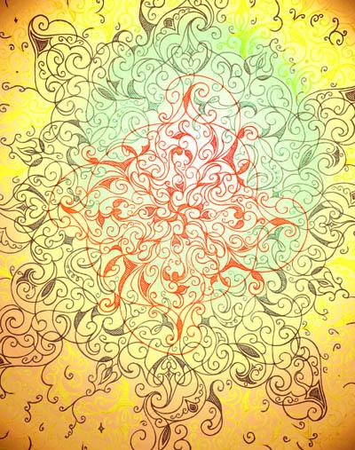 Интуитивные карты, душевные рисунки Солнце Мелуа