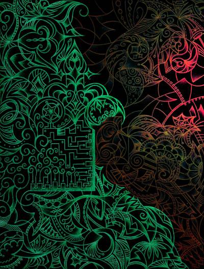 Интуитивные карты, мистические рисунки В глубине души