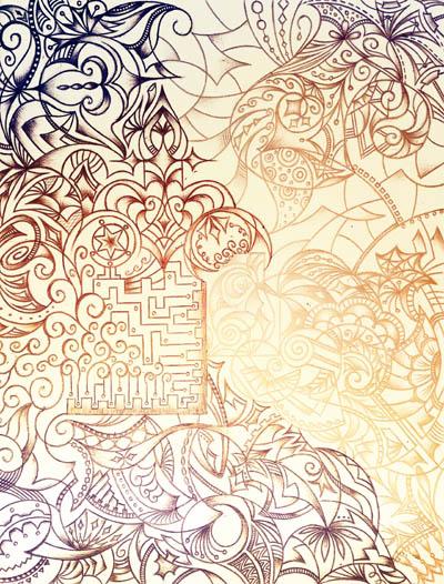 Интуитивные карты, эзотерические рисунки Золотой песок
