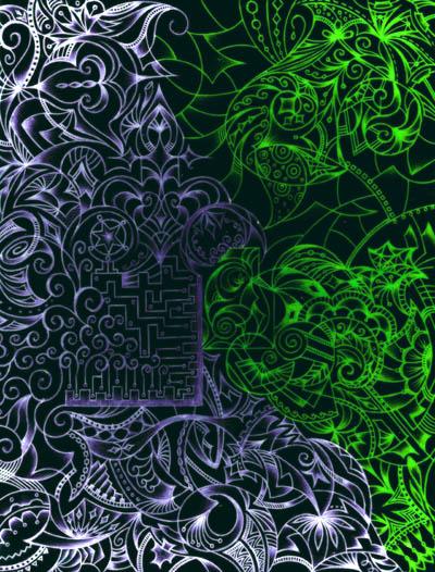 Интуитивные карты, мистические рисунки В темноте ярче виден свет