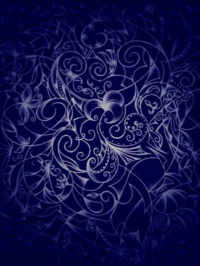 Интуитивные карты, графические рисунки цветов Мудрость женщины