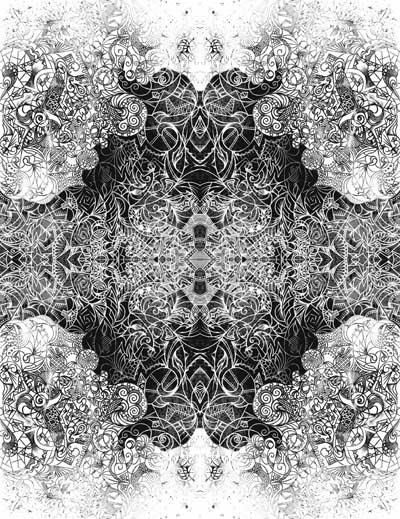Графические рисунки черно-белые, интуитивные карты Восстание