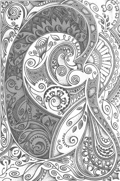 Графические рисунки черное и белое, метафорические карты Наболевшее