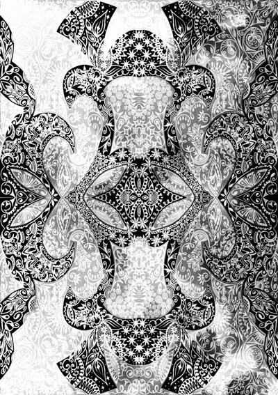 Метафорические карты черно-белые Свет внутри тебя