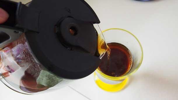 Цитрусовый раф как приготовить дома Наливаем кофе в бокал