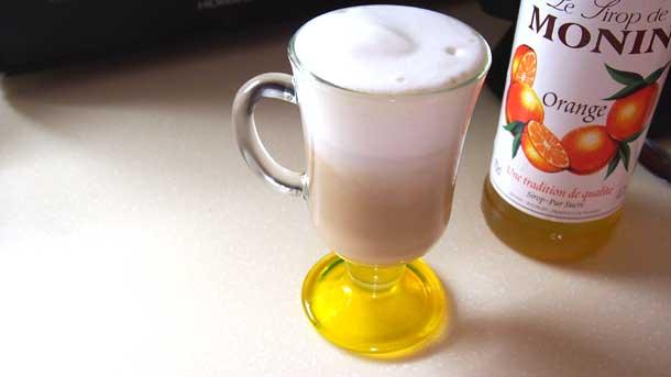 Цитрусовый раф как приготовить дома  Готовый кофе