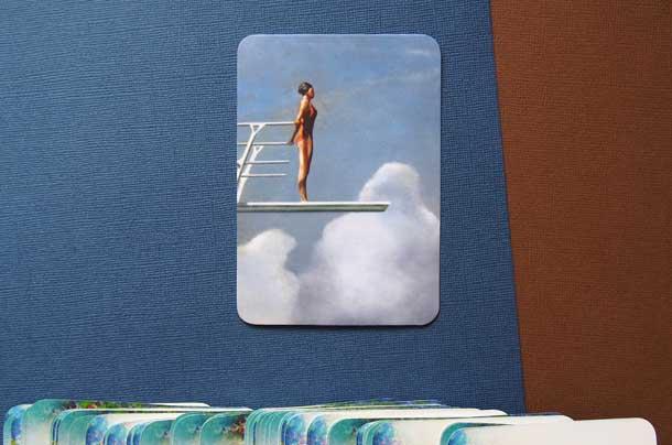 Метафорические карты техника для мотивации Перед прыжком