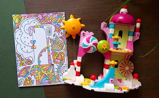 Интересные подарки для женщин Раскраски праздник