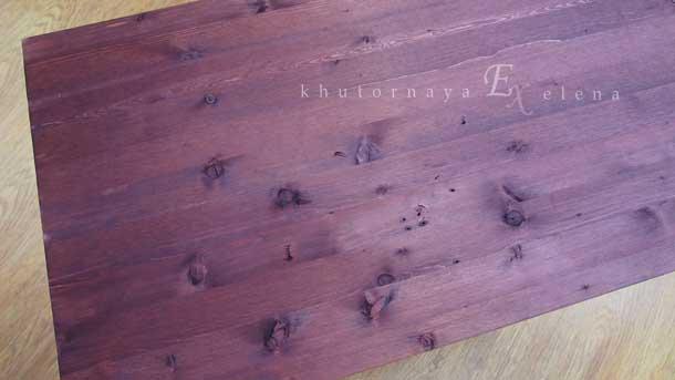 Как сделать деревянный фон Цвет мокко на три раза