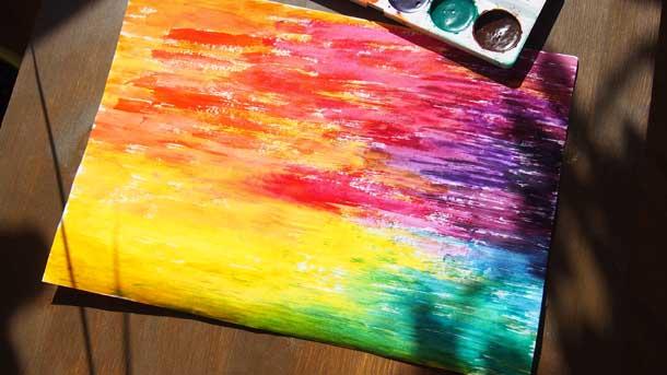 Нужна ли творческая самореализация Акварельная радуга