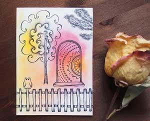 Поиск новых идей Рисунок акварелью и ручками