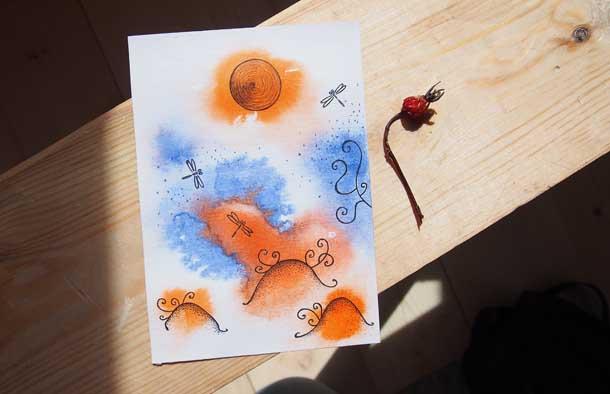 Поиск новых идей Стрекозы на болоте