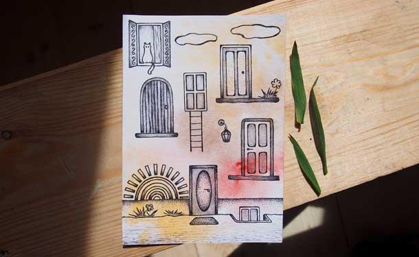 Поиск новых идей Двери в небо
