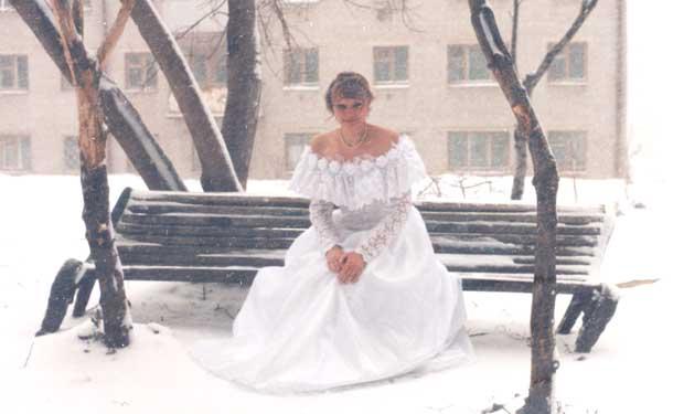 Про свадьбы Хуторная Елена первое замужество