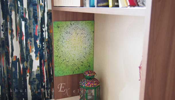 Декоративное настенное панно в интерьере Я зову тебя