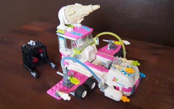 Лучший подарок мальчику Лего Машина с мороженым
