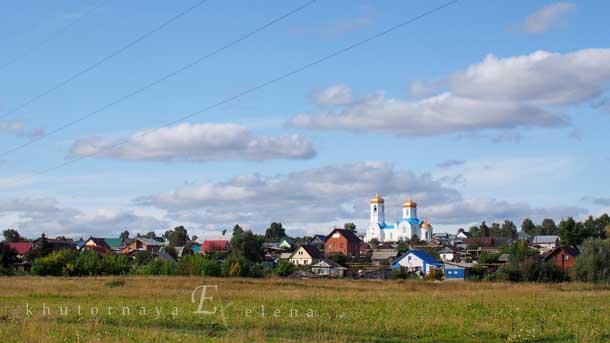 Колыванский монастырь Вид издалека