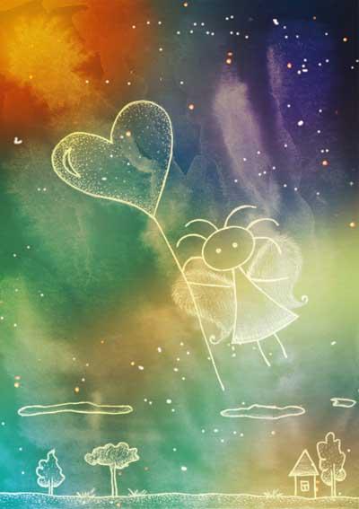 Метафорические карты Ангел-хранитель Хранитель любви