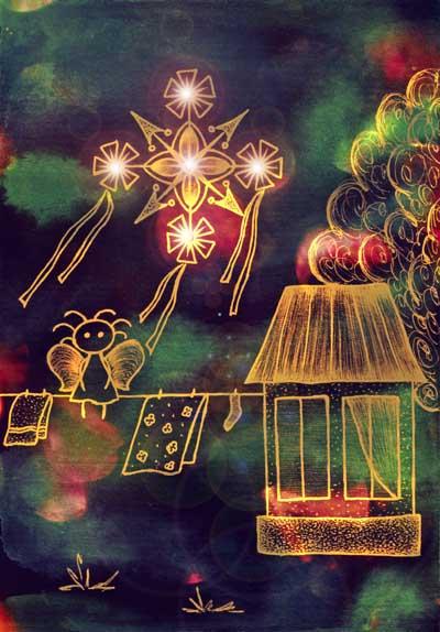 Метафорические карты Ангел-хранитель Хранитель дома