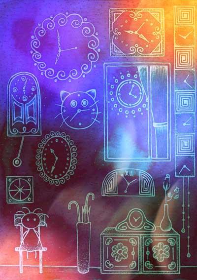 Метафорические карты Ангел-хранитель Хранитель времени