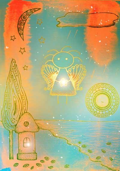 Метафорические карты Ангел-хранитель Ангел утешения
