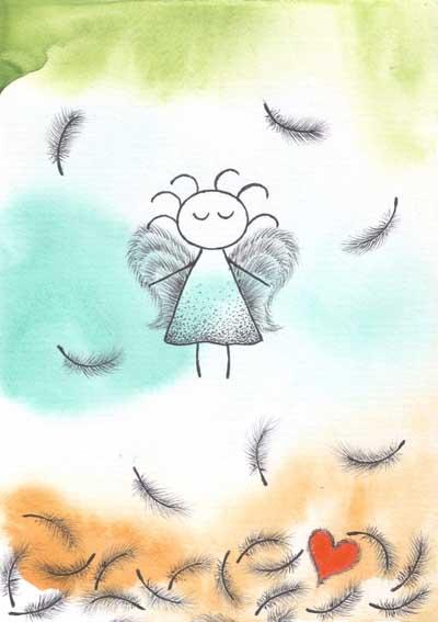 Метафорические карты Ангел-хранитель Ангел прощения