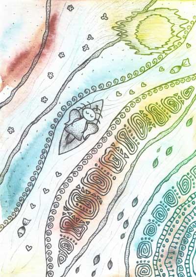 Метафорические карты Ангел-хранитель Ангел покоя и умиротворения